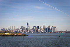 New Lower Manhattan Royalty Free Stock Photo