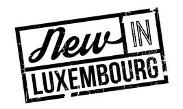 New In Luxembourg rubber stamp Stock Photos