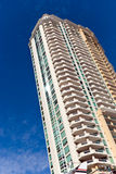 New, Luxury Condominiums In Fort Lauderdale,Florid Royalty Free Stock Photo