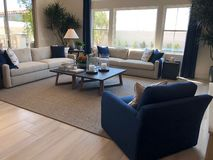 Model Luxury Home Interior. Royalty Free Stock Photography