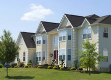 New Luxury Residential House Stock Photography