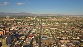 New México aéreo Albuquerque almacen de metraje de vídeo