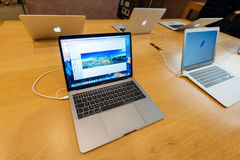 New MacBook Pro fourth generation Stock Images