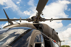 New Main rotor blade helicopter Royalty Free Stock Photos