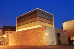 New main synagogue Munich. Opened Nov 2006 Royalty Free Stock Photos