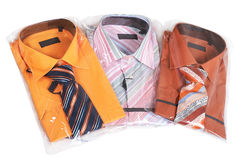 New man's shirts Stock Photography