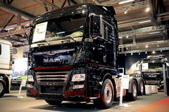 New MAN TGX 28.500 Truck on Display Royalty Free Stock Photo