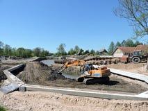 New Marina construction, Lithuania Royalty Free Stock Photos