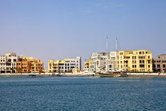 New marina, El Gouna, Red Sea, Egypt. The new marina of El Gouna, Red Sea, Egypt royalty free stock image