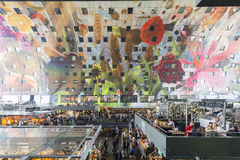 The new Market Hall in Rotterdam, Netherlands. Royalty Free Stock Photography