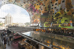 The new Market Hall in Rotterdam, Netherlands. Stock Photos