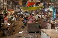 New Market, meat section, Kolkata, India Stock Images