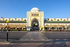 New market Nea Agora, Rhodes old town, Greece royalty free stock photography