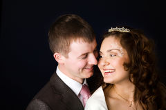 New Married couple Stock Images