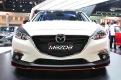 New Mazda 3 on display Royalty Free Stock Photo