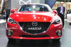 New Mazda 3 on display Stock Image