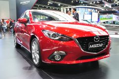 New Mazda 3 on display Stock Photos