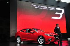 New Mazda 3 on display Stock Photo