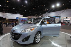 New Mazda model 2011. Chicago auto show February 2011 Stock Photography