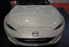 New Mazda MX-5 Miata two-seater vehicle Stock Photography