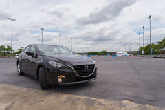 New Mazda 3 skyactive Royalty Free Stock Photography