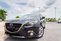 New Mazda 3 skyactive Stock Photography