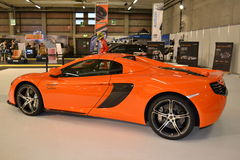 New McLaren650S luxury sport car at Brianza  Royalty Free Stock Images