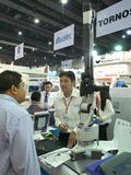 New measuring tools in Asiean metallex 2014 bitec bangna ,bangkok Stock Image