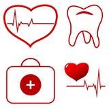 Medical set Royalty Free Stock Photography