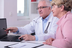 New medical treatment Stock Photography