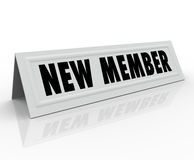 New Member Introduction Welcome Joining Committee Royalty Free Stock Photos