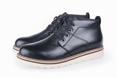 New men leisure for leather shoes Stock Images