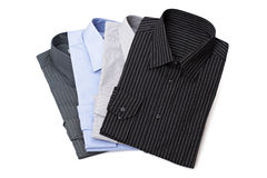 New men's dress shirts Royalty Free Stock Images