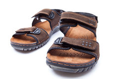 New men's fashion sandal Royalty Free Stock Photography