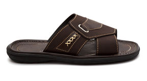 New mens fashion sandals Stock Photography