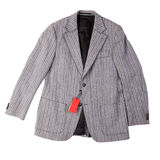 New men's jacket with a label Royalty Free Stock Image