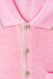 New men's pink Polo T-shirt Stock Images