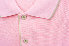 New men's pink Polo T-shirt Royalty Free Stock Photos