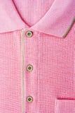 New men's pink Polo T-shirt Royalty Free Stock Photos