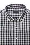 New men's shirt and blank label Stock Photography