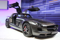New Mercedes AMG 2014. New Mercedes AMG at Chicago car show 2014 Stock Photos