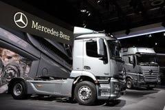 New Mercedes Benz Actros Trucks Stock Image