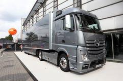 New Mercedes Benz Aerodynamics Stock Image