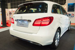 New Mercedes-Benz B-Class at the Singapore Motorshow 2015 Royalty Free Stock Photography