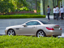 The new mercedes-benz slk Stock Photography