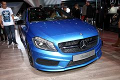 The new Mercedes A-class Stock Images