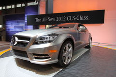New Mercedes CLR 550. Chicago auto show February 2011 Royalty Free Stock Photos