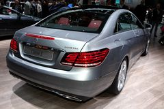 The new Mercedes E-class Stock Photography