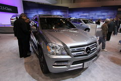 New Mercedes GL-350 Royalty Free Stock Photos