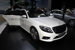The new Mercedes S-class Royalty Free Stock Photo